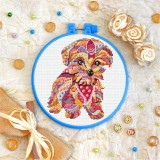 Cross stitch kit «T-0204 Mandala Terrier»