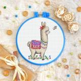 Cross stitch kit «T-0227 Llama»