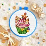 Cross stitch kit «T-0270 Cake»