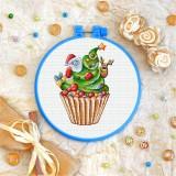 Cross stitch kit «T-0284 Xmas Tree Cake»