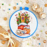 Cross stitch kit «T-0298 Winter Comfort»