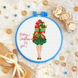 Cross stitch kit «T-0333 Merry Christmas to You»