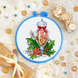 Cross stitch kit «T-0359 Christmas Sweets»