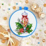Cross stitch kit «T-0359 Christmas Sweets»
