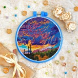 Cross stitch kit «T-0371 Saguaro Landscape»