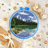 Cross stitch kit «T-0391 Rocky Mountain Landscape»
