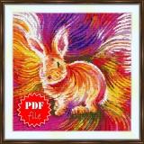 Cross stitch pattern «pdf-S-0044 Bunny»