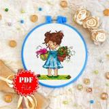 Cross stitch pattern «pdf-T-0053 Bearing Gifts»