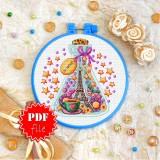 Cross stitch pattern «pdf-T-0273 My Dreams»