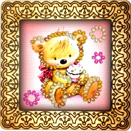 Magnet bead embroidery kit «M-0141 Bearing Up»