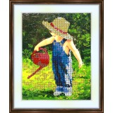 Bead embroidery kit «A-0054 Young Nurturer»