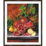 Bead embroidery kit «A-0164 Pomegranates»
