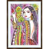 Bead embroidery kit «A-0194 Jasmine»