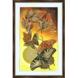 Bead embroidery kit «A-0244 Butterflies Migrating»