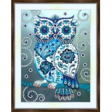 Bead embroidery kit «A-0335 Fairy Owl»