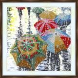 Bead embroidery kit «A-0355 Umbrellas»