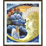 Bead embroidery kit «A-0375 Sharing Angel Secrets»
