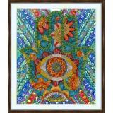 Bead embroidery kit «A-0395 Hamsa Hand»