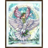 Bead embroidery kit «A-0445 Dove of Peace»