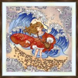 Bead embroidery kit «A-0522 Waves»