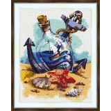 Cross stitch kit «S-0010 Sailboat in the Bottle»