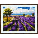 Cross stitch kit «S-0020 Lavender Field»