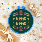 Cross stitch kit «T-0009 Home Sweet Home 1»