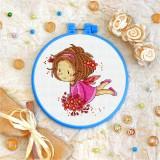 Cross stitch kit «T-0039 Fairy in Pink»