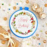 Cross stitch kit «T-0079 Happy Birthday 5»