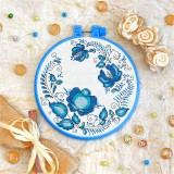 Cross stitch kit «T-0099 Blue Ornament»