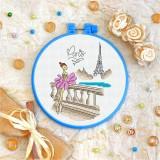 Cross stitch kit «T-0109 Paris»