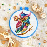 Cross stitch kit «T-0162 Mandala Owl»