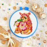 Cross stitch kit «T-0195 Mandala Panda»