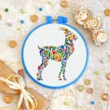 Cross stitch kit «T-0217 Mandala Antelope»
