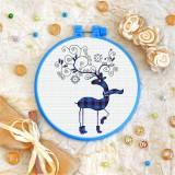 Cross stitch kit «T-0240 Winter Deer»