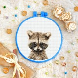 Cross stitch kit «T-0289 Baby Raccoon»