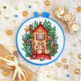 Cross stitch kit «T-0313 Gingerbread House»