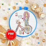 Cross stitch pattern «pdf-T-0124 My Best Friend»