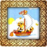 Magnet bead embroidery kit «M-0022 Adventuring We Go»