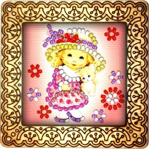 Magnet bead embroidery kit «M-0092 Princess»