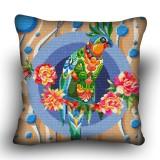 Pillow cross stitch kit «H-0019 Polly Parrot»
