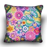 Pillow cross stitch kit «H-0029 Spring Garden»