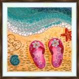 Bead embroidery kit «A-0406 Seashore Adventures»