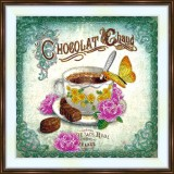 Bead embroidery kit «A-0500 Chocolate Delight»
