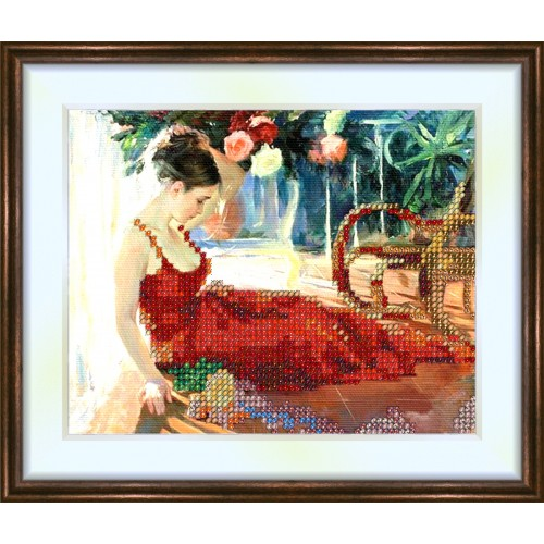 Bead embroidery kit «K-0104 Musing»