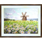 Bead embroidery kit «K-0134 The Windmill»