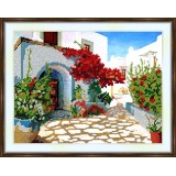Bead embroidery kit «K-0175 The Beauty of Greece»