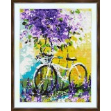 Cross stitch kit «S-0011 Lilac Flowers»