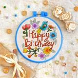 Cross stitch kit «T-0010 Happy Birthday 1»