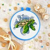 Cross stitch kit «T-0020 Baby Turtle»